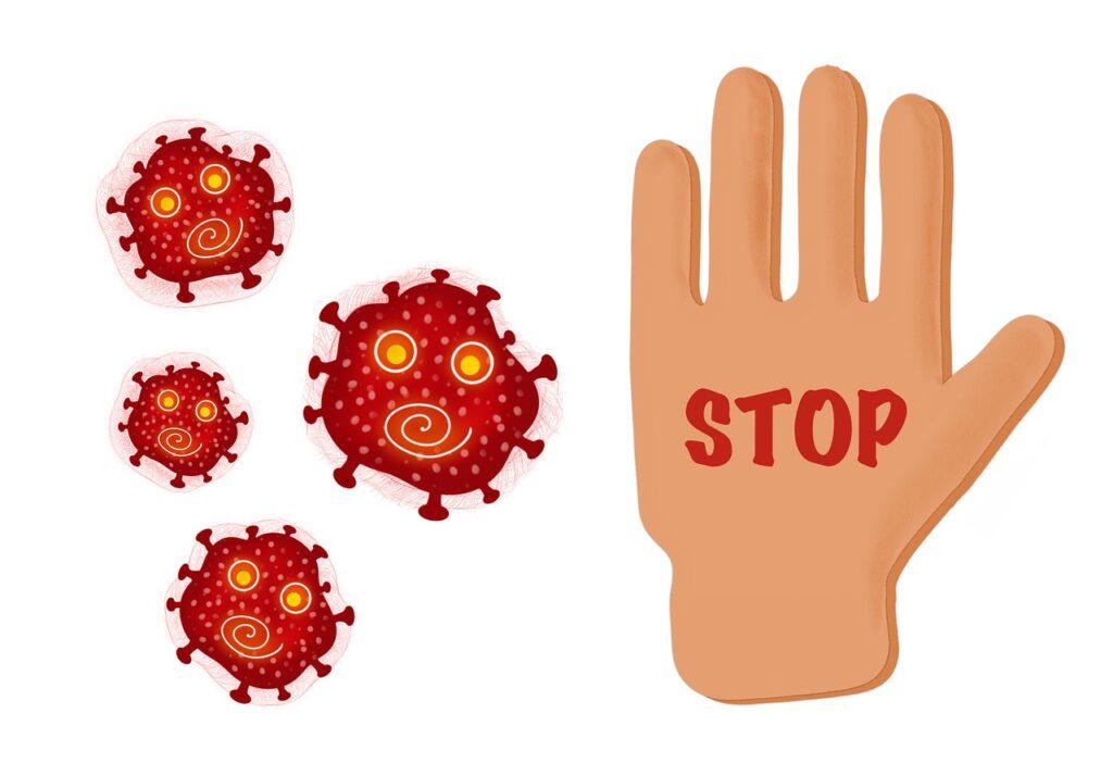 stop corona, coronavirus, corona